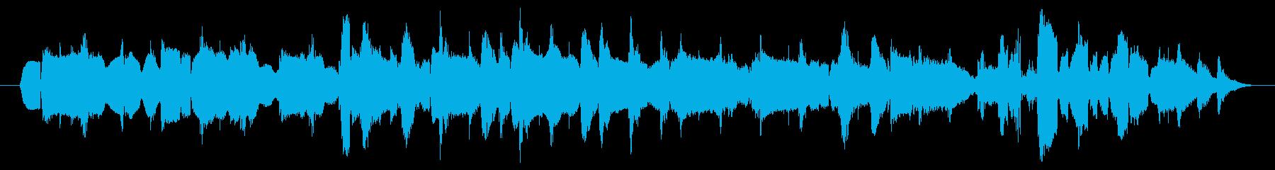 ショパンのノクターン~ボサ風ハーモニカ~の再生済みの波形