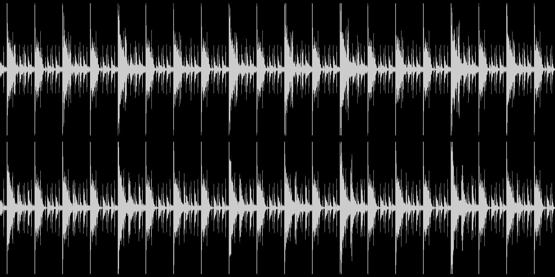 ヒップホップっぽい系のループの未再生の波形