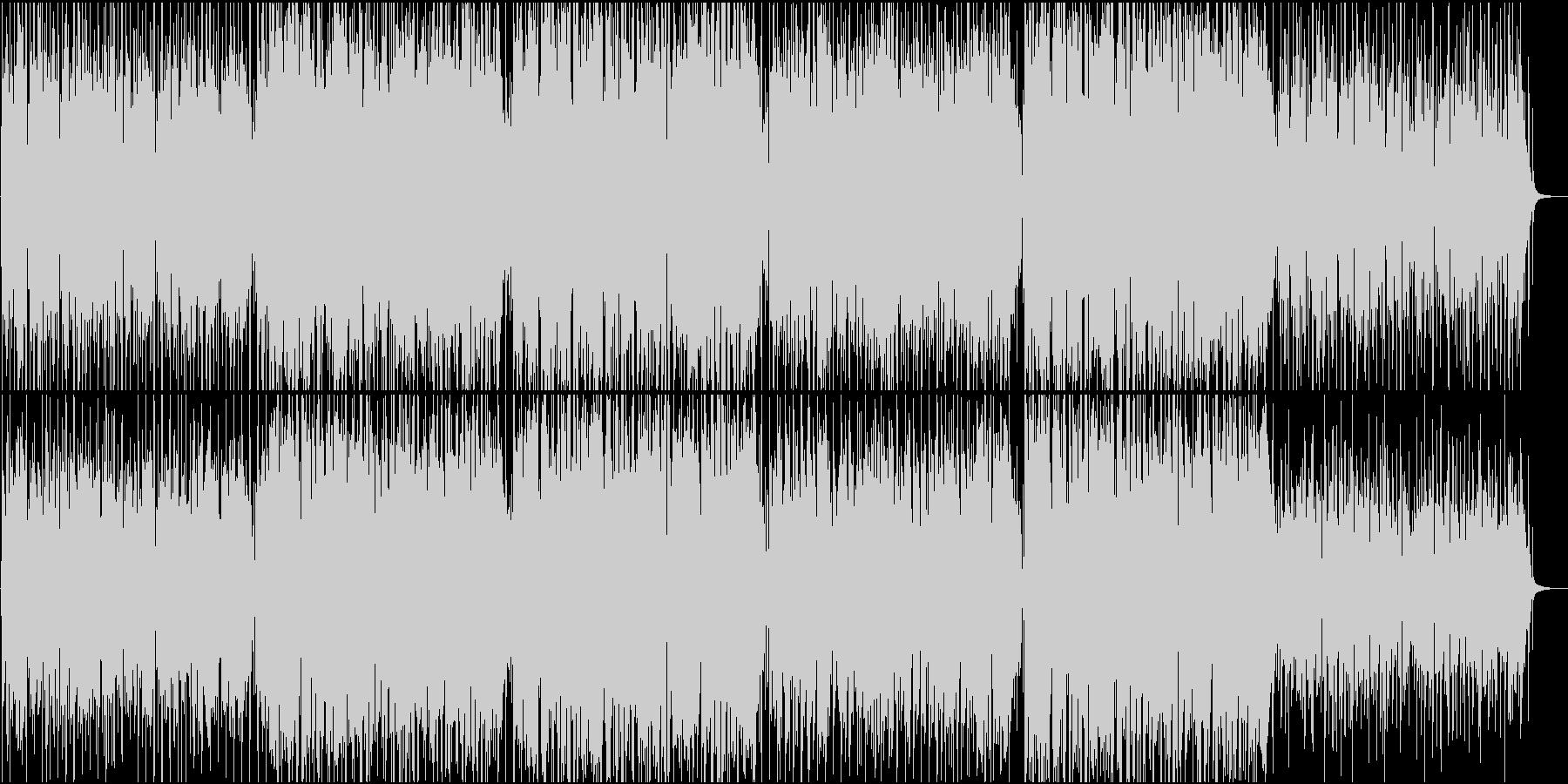 陽気なメキシカン/夏と海のBGM/ビールの未再生の波形