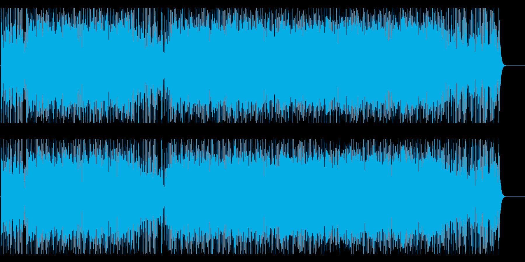 楽しい にぎやか いきいき はつらつの再生済みの波形