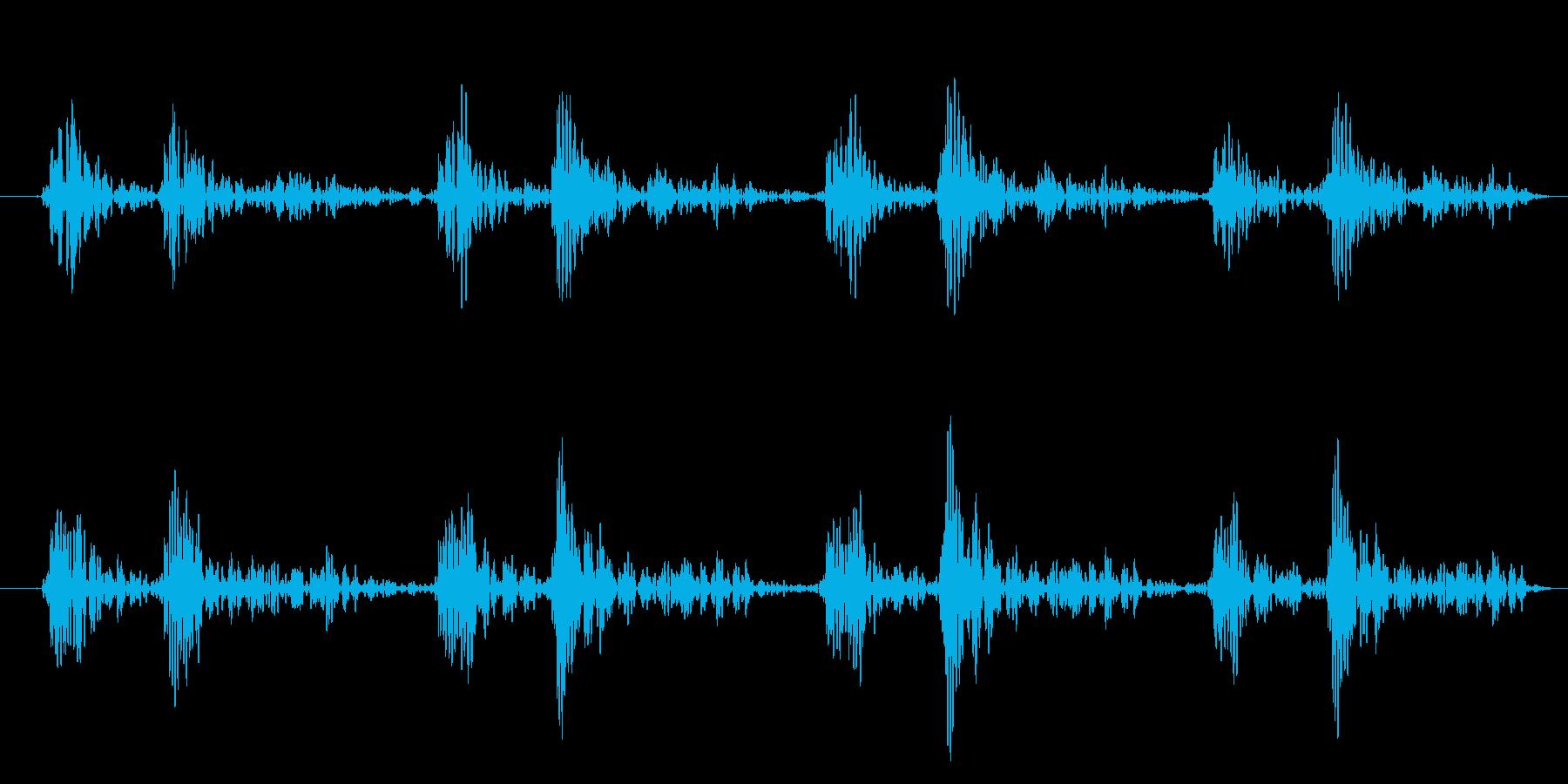 「ドクン!ドクン!」心臓心拍、鼓動音09の再生済みの波形
