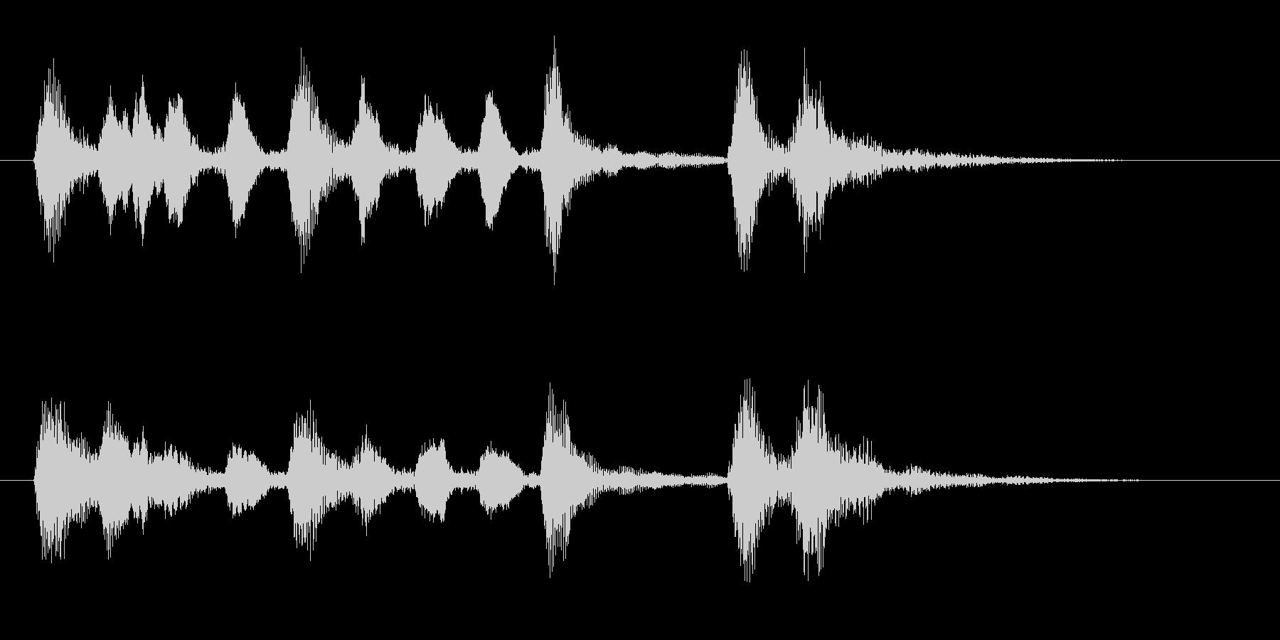 5秒ストリングスアイキャッチの未再生の波形