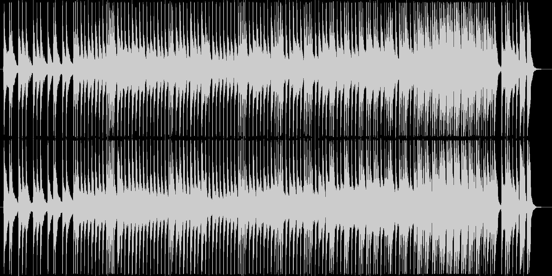 三味線のソロの未再生の波形