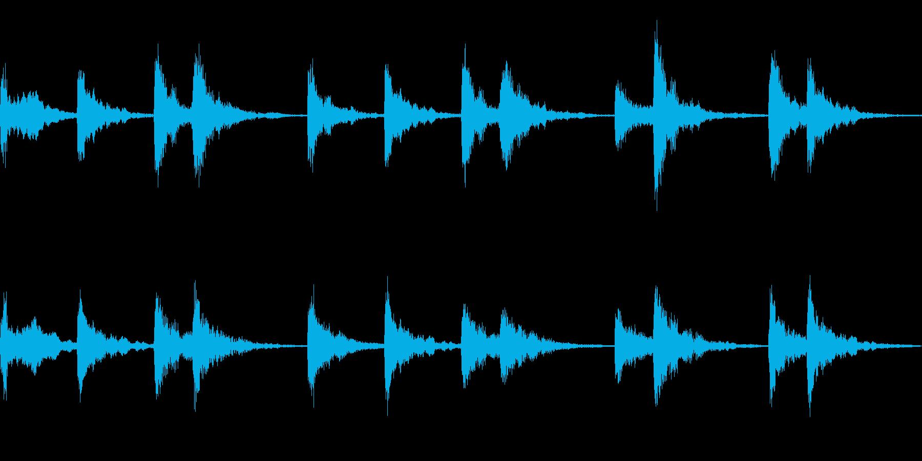 ストリングスをモチーフにしたループ楽曲…の再生済みの波形