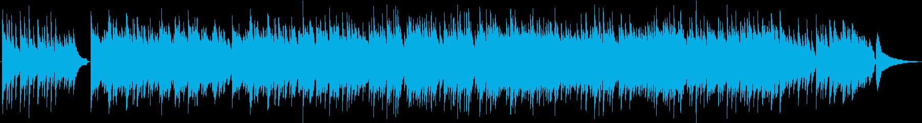 歌モノ的な展開のゆったり優しいピアノ曲の再生済みの波形