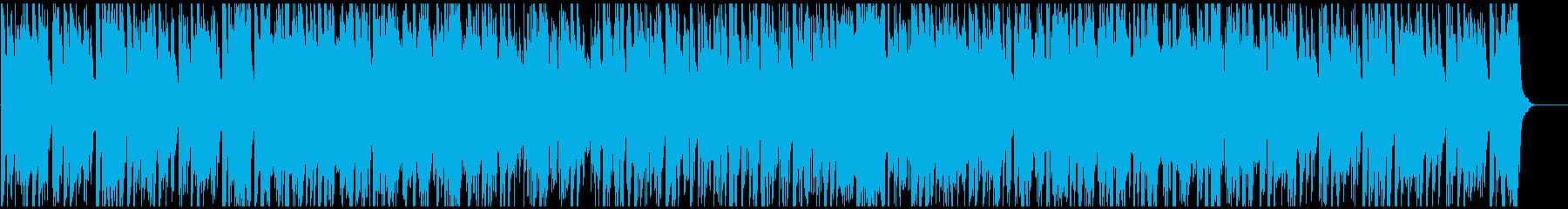 ヒップホップ系ジャズファンク Sax生録の再生済みの波形