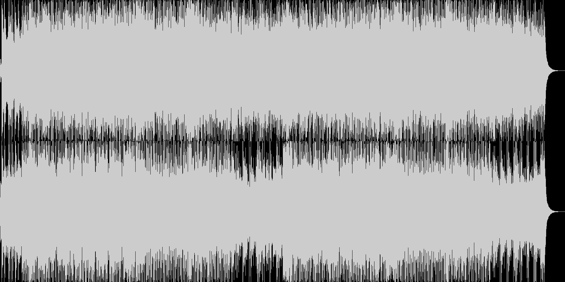【バトルBGM】熱いロックオルガン曲の未再生の波形