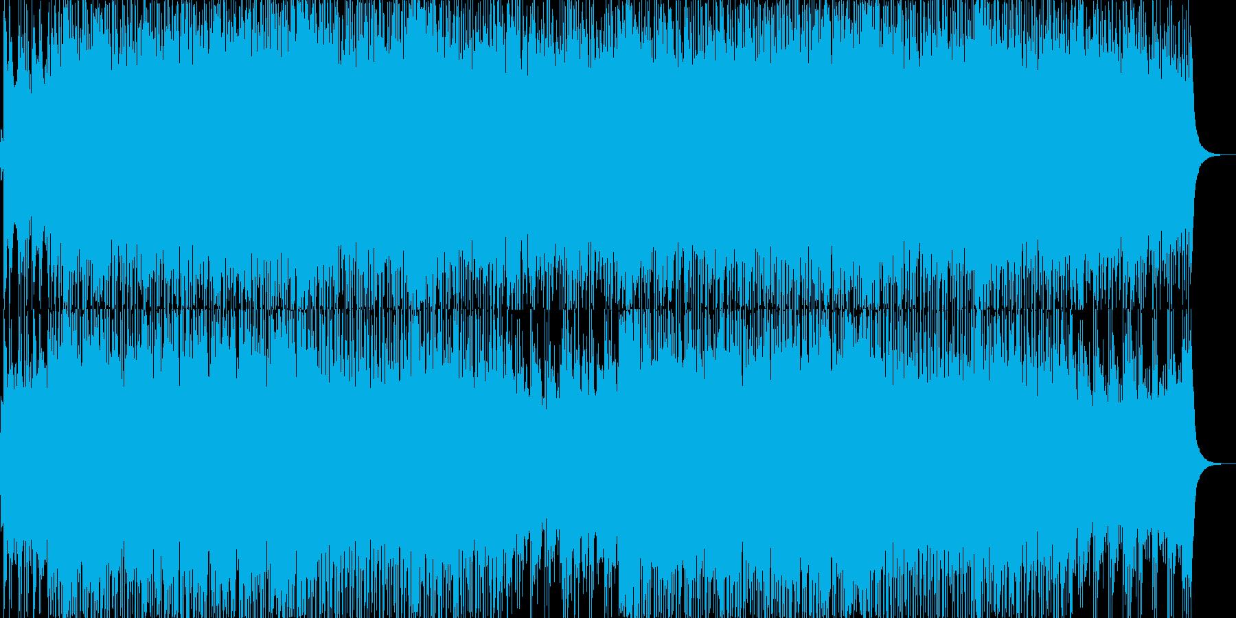 【バトルBGM】熱いロックオルガン曲の再生済みの波形