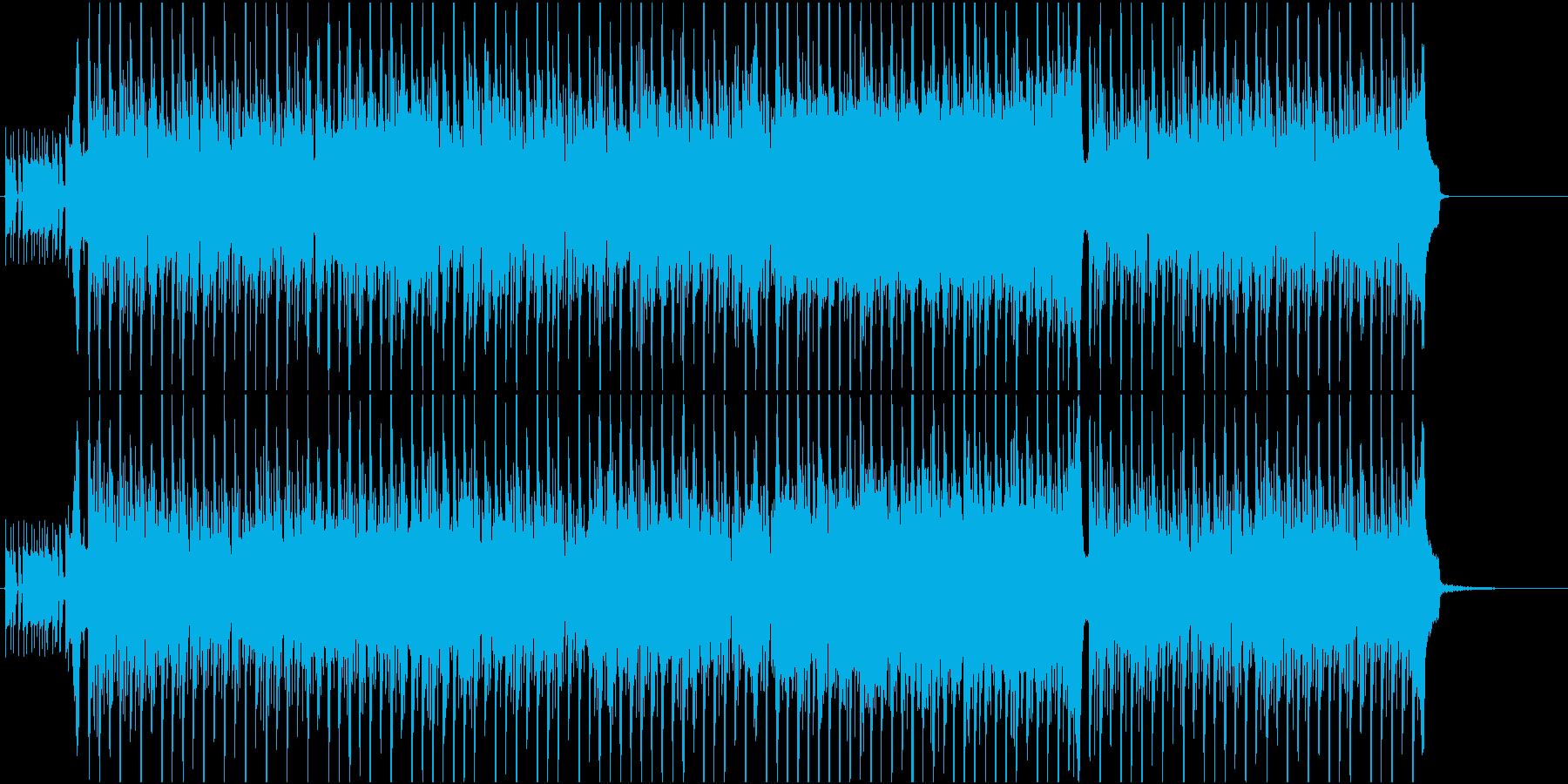 悲しきダンスフロアの再生済みの波形