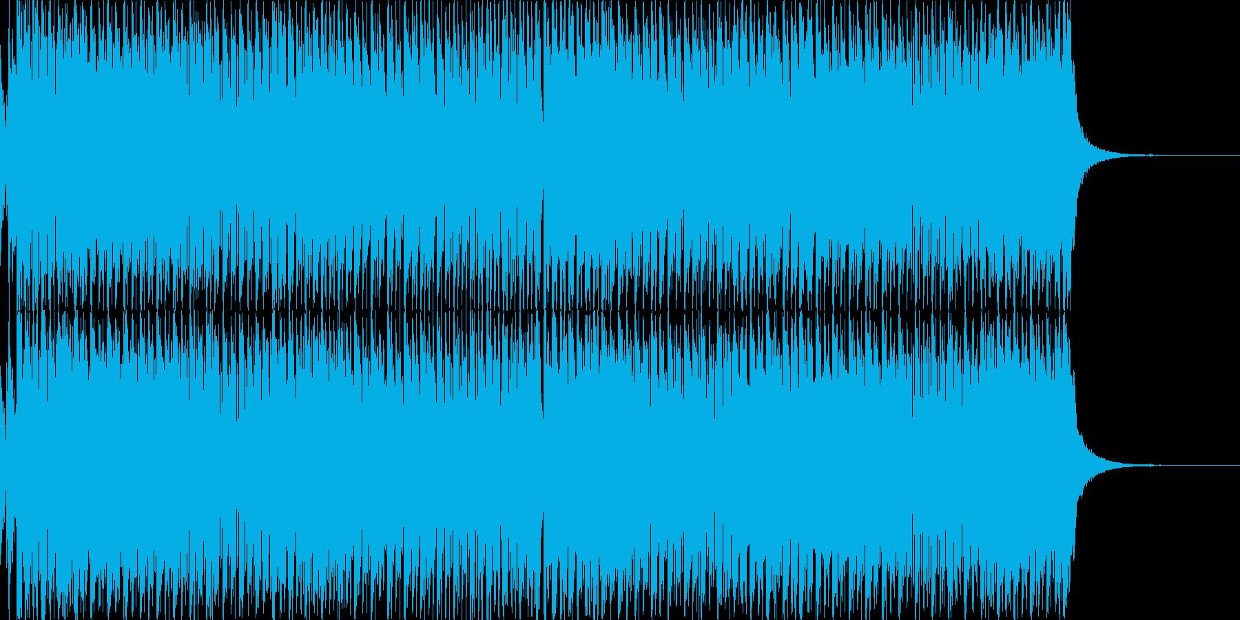 明るく爽快なエレクトロダンスBGMの再生済みの波形