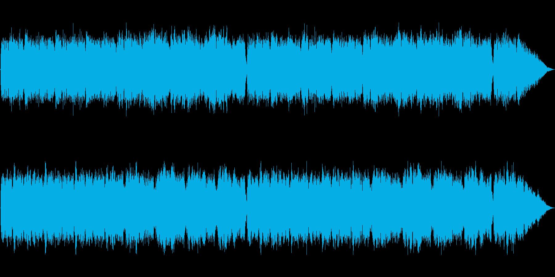 法の番人 裁定者 パイプオルガンの再生済みの波形