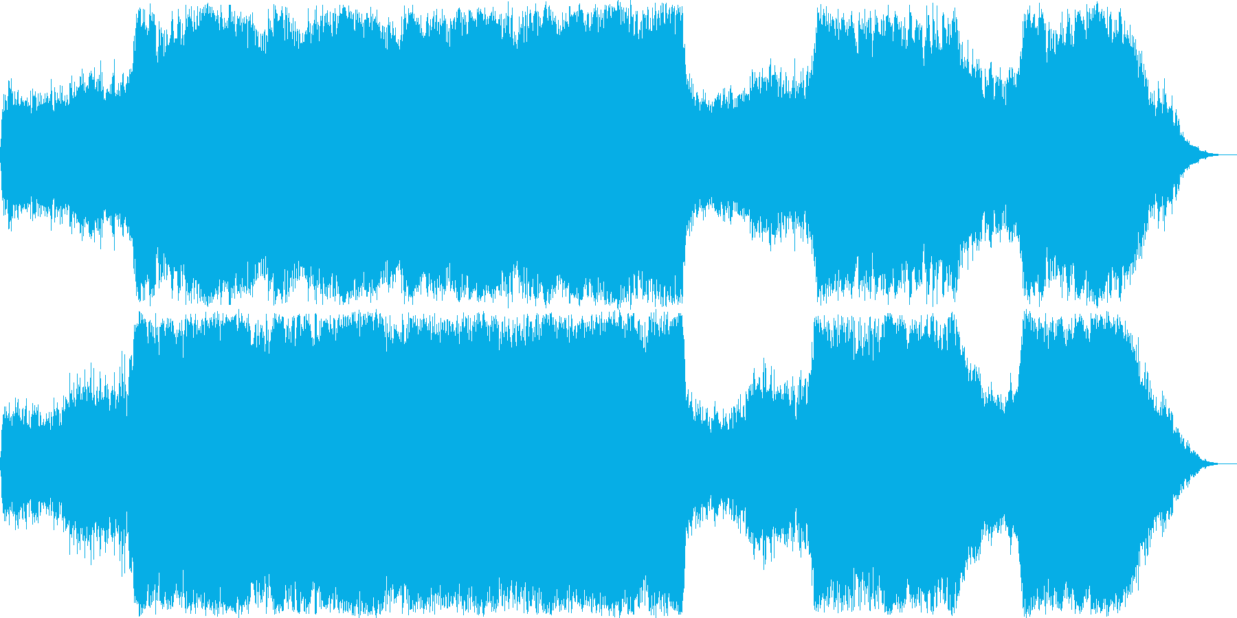 ボス バトル オーケストラの再生済みの波形