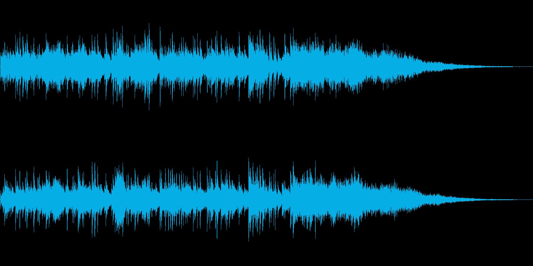 爽快なエレクトロ・ギター・ポップの再生済みの波形