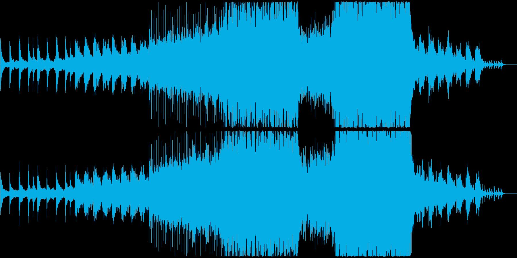 鮮やかで感動的な映像、CMにの再生済みの波形
