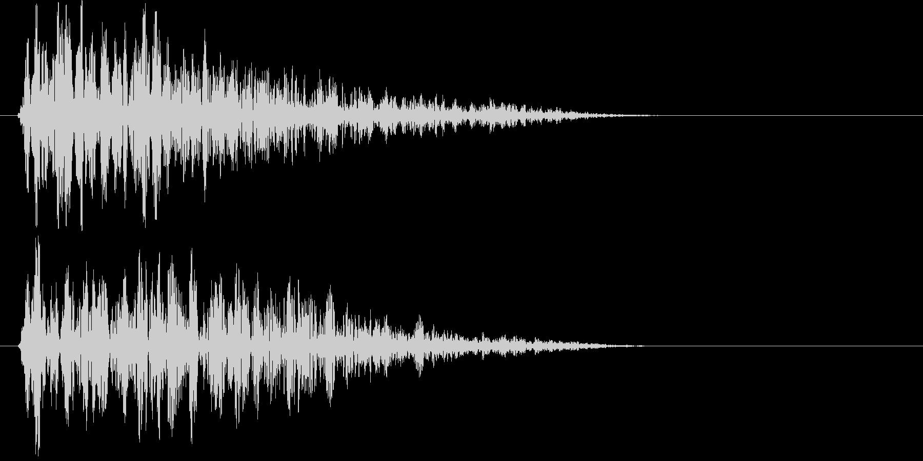 ホォォオオー(荒廃した街に吹く風)の未再生の波形