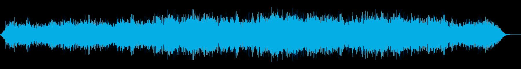 宇宙の果てと交信してる様な神秘的な音風景の再生済みの波形