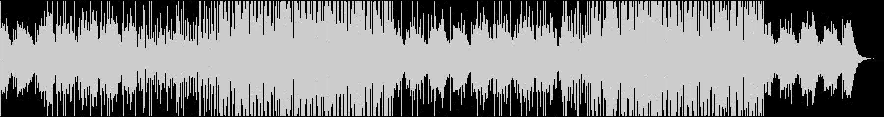夏っぽい癒しのチルハウス系BGMの未再生の波形