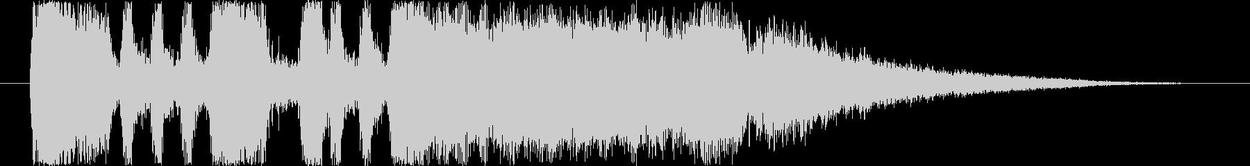 ファンファーレ2の未再生の波形