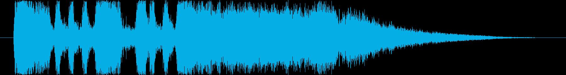 ファンファーレ2の再生済みの波形