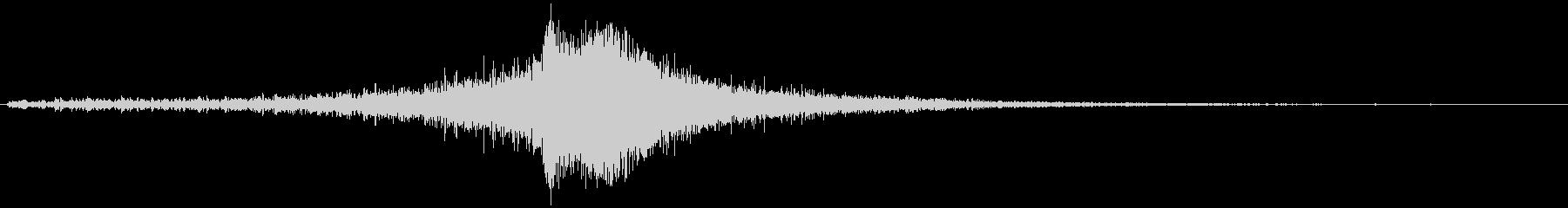 ヒュオオ・・フシューン(風の音)の未再生の波形