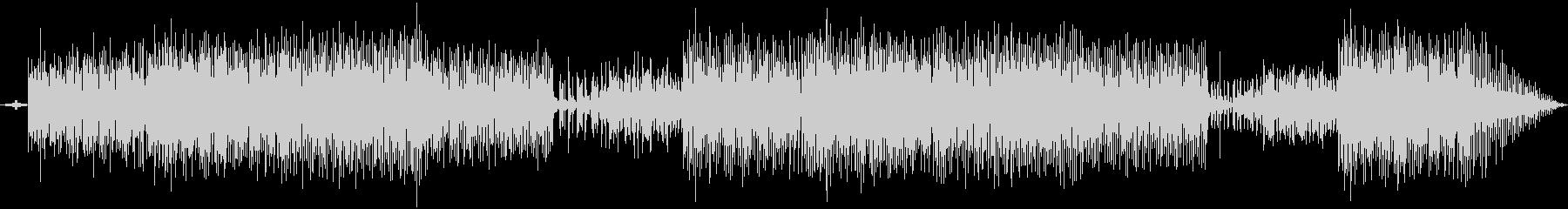 ほのぼのしたシンセ音楽の未再生の波形
