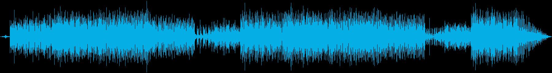 ほのぼのしたシンセ音楽の再生済みの波形