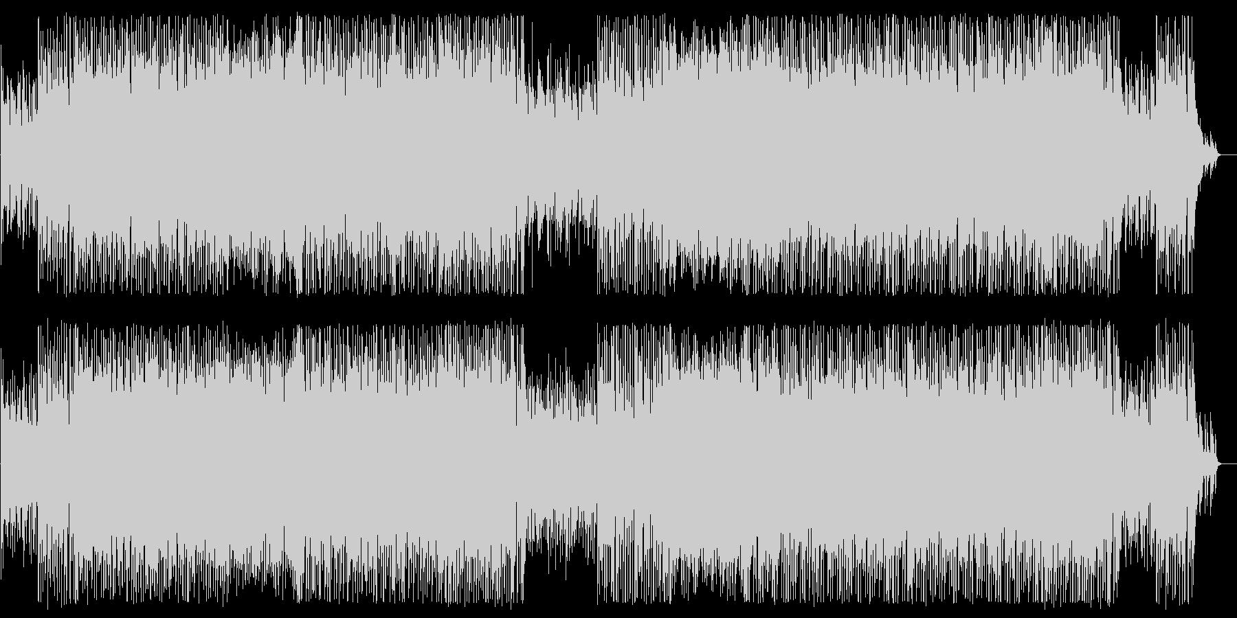 軽やかで優しいシンセピアノポップスの未再生の波形