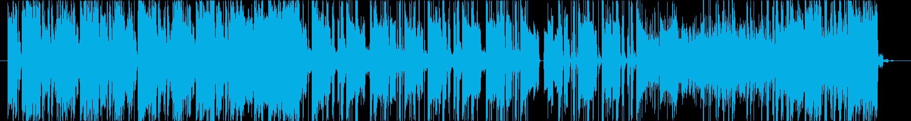 jazzテイストのエレピ音源メインの楽…の再生済みの波形