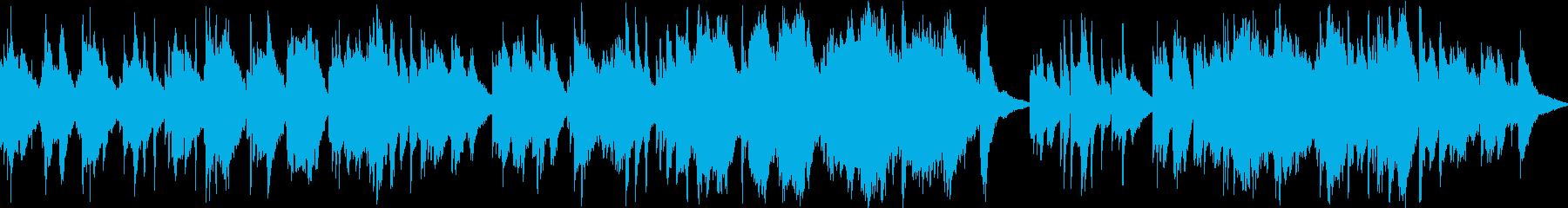 RPGの神秘的な森・ダンジョン・ループ版の再生済みの波形