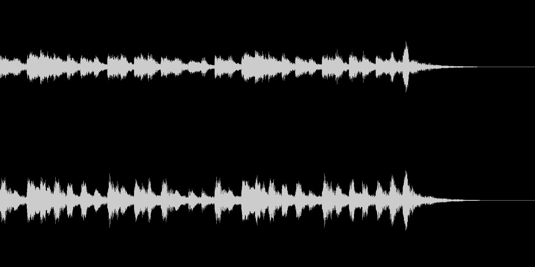 【森の散歩道】ショートヴァージョンBGMの未再生の波形