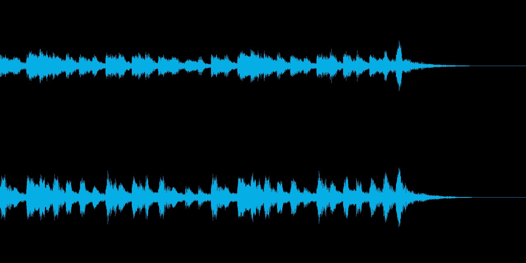 【森の散歩道】ショートヴァージョンBGMの再生済みの波形