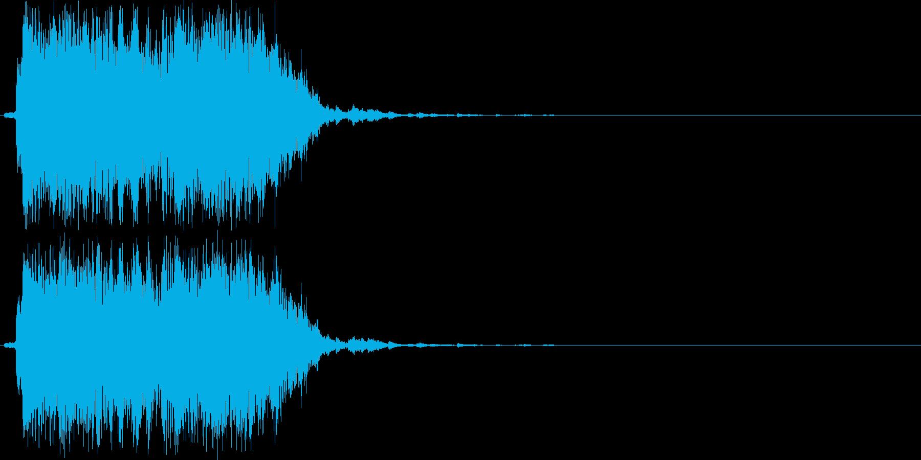 ジャラジャラ(鈴、短め、初詣)の再生済みの波形