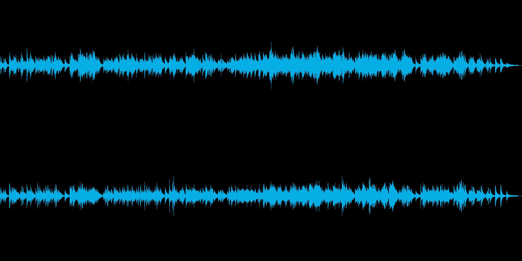 物語を想像させるようなピアノソロの再生済みの波形
