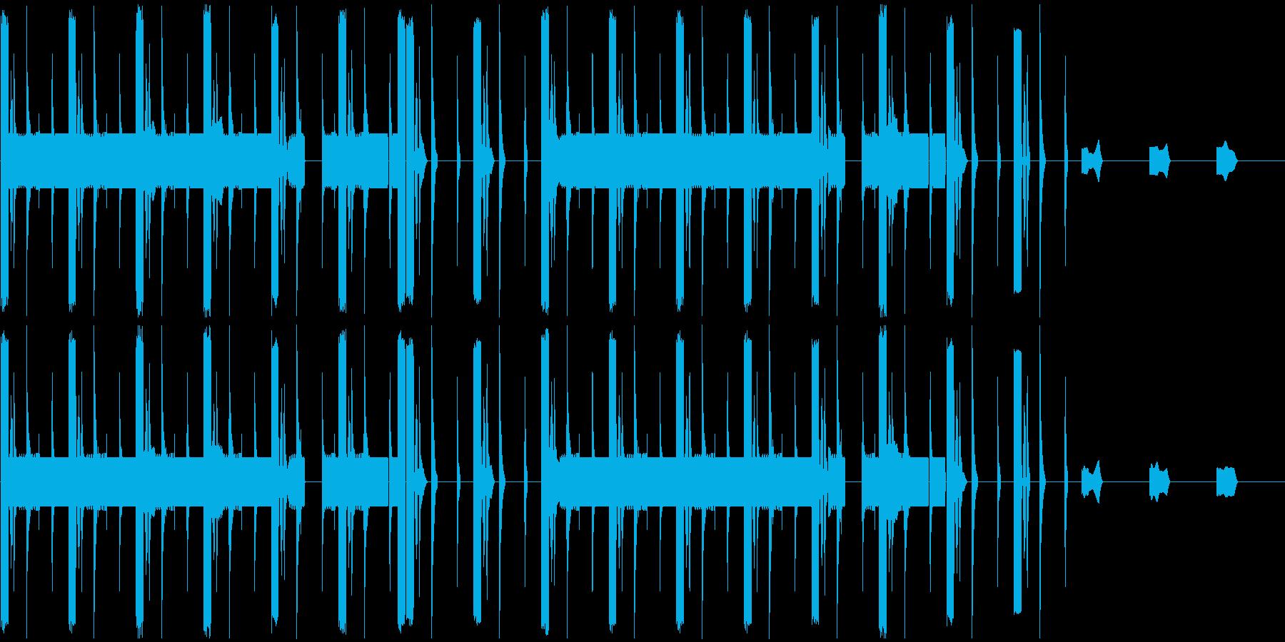 変わった曲ですの再生済みの波形