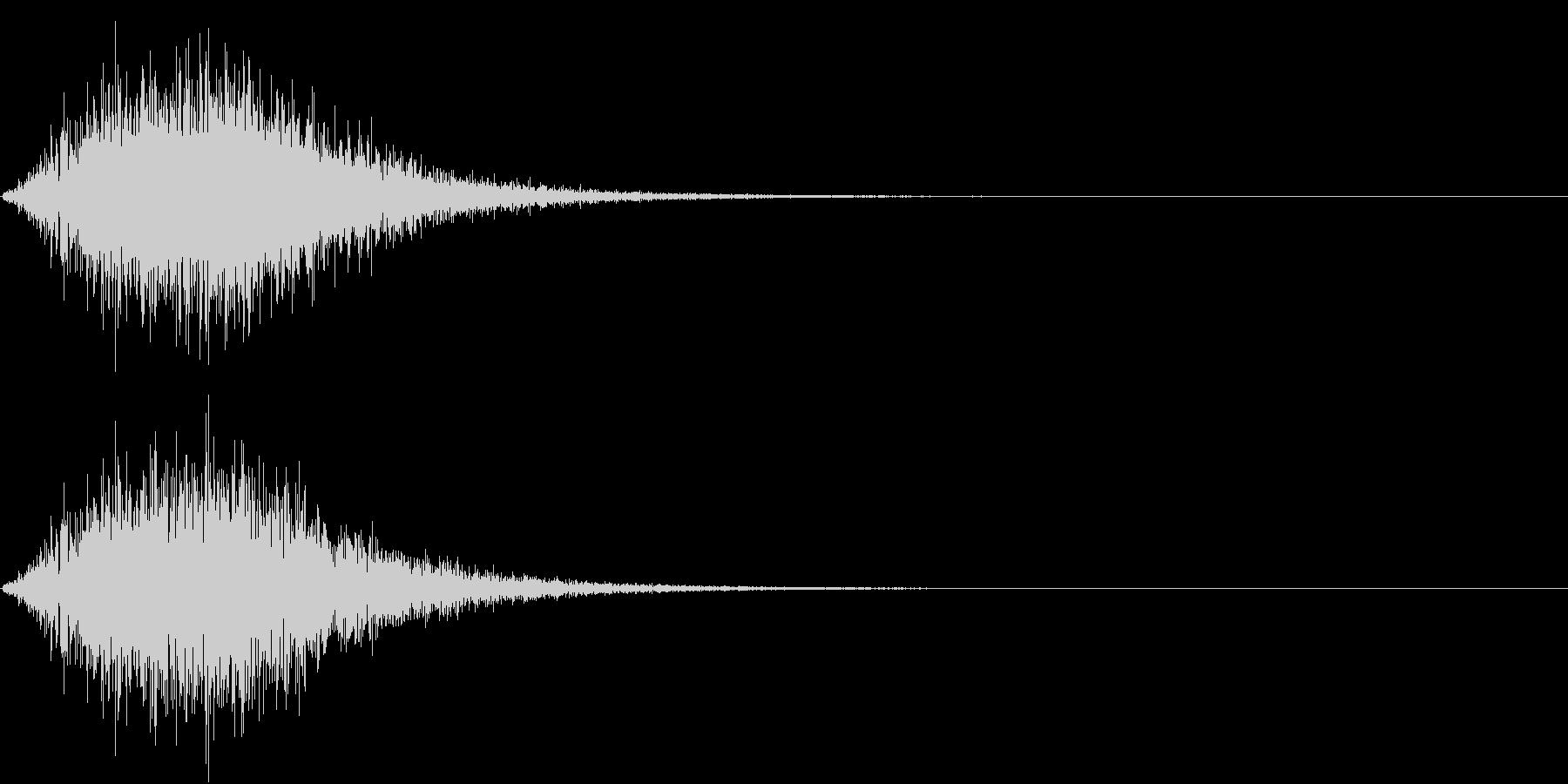 Battle 戦闘エフェクト音 11の未再生の波形