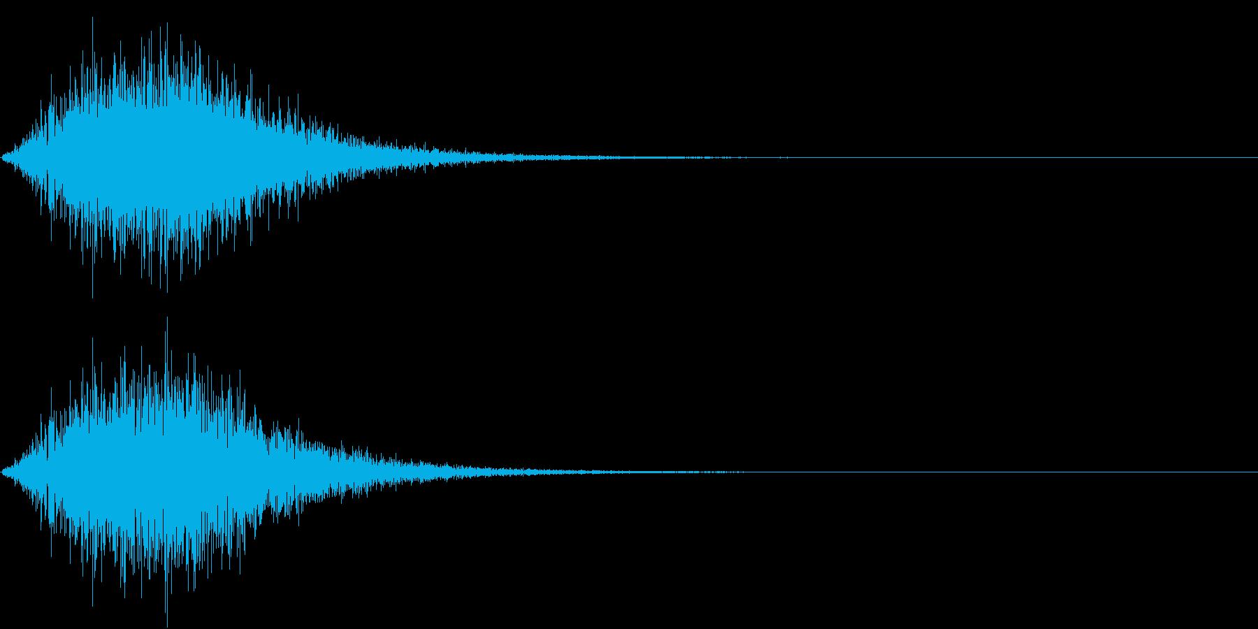 Battle 戦闘エフェクト音 11の再生済みの波形