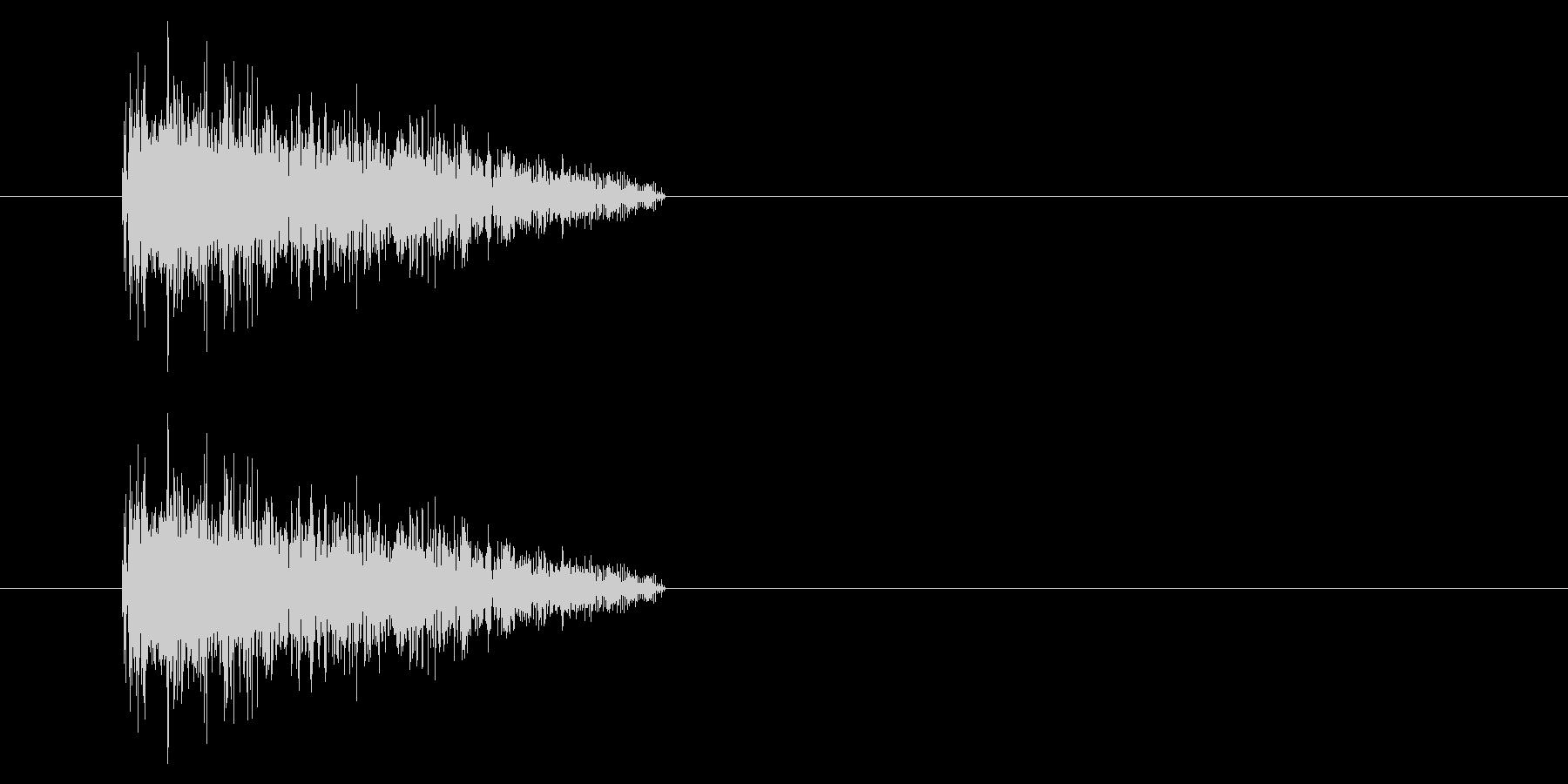 NES シューティング01-5(ダメージの未再生の波形