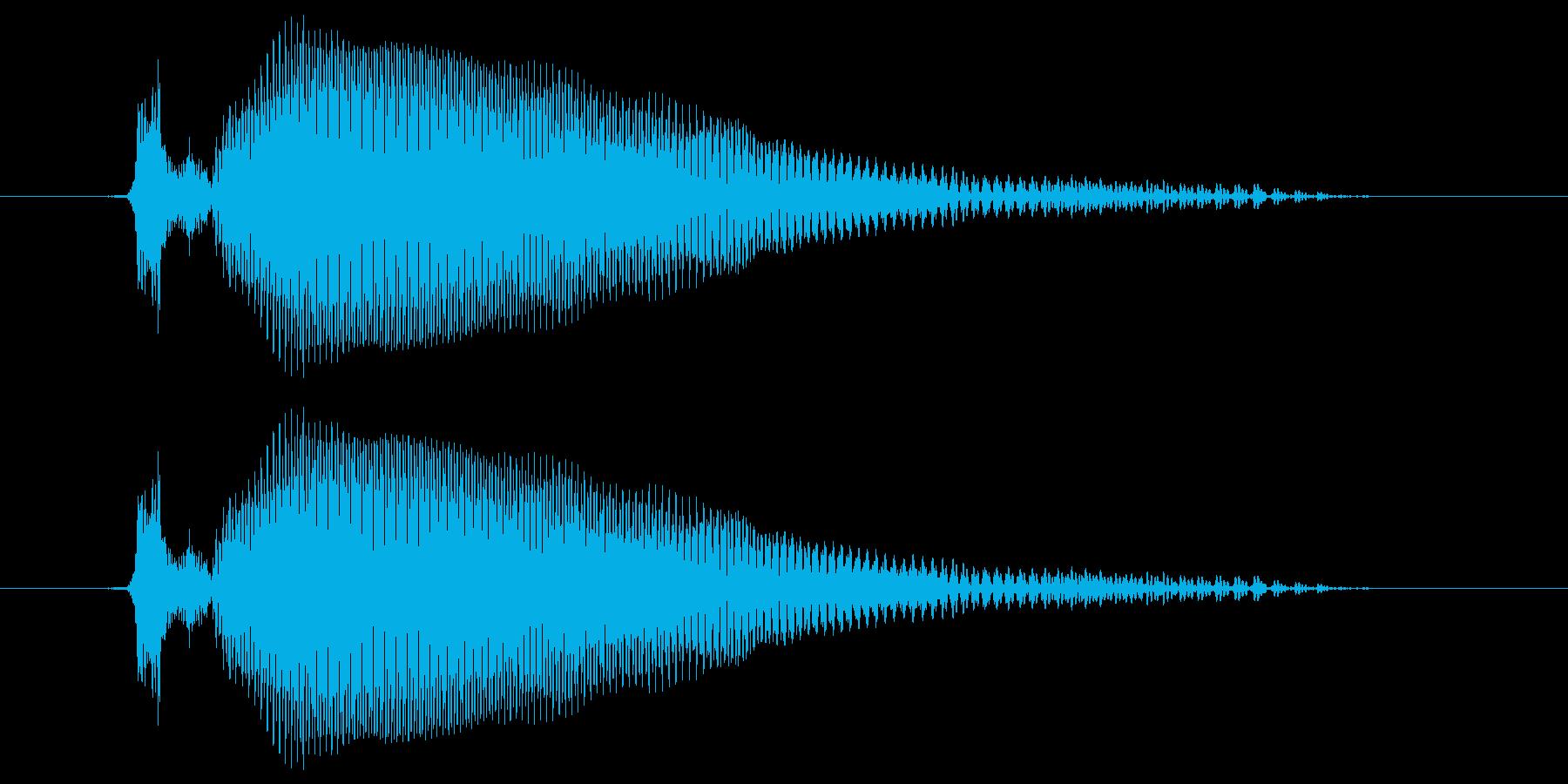 トゥーの再生済みの波形