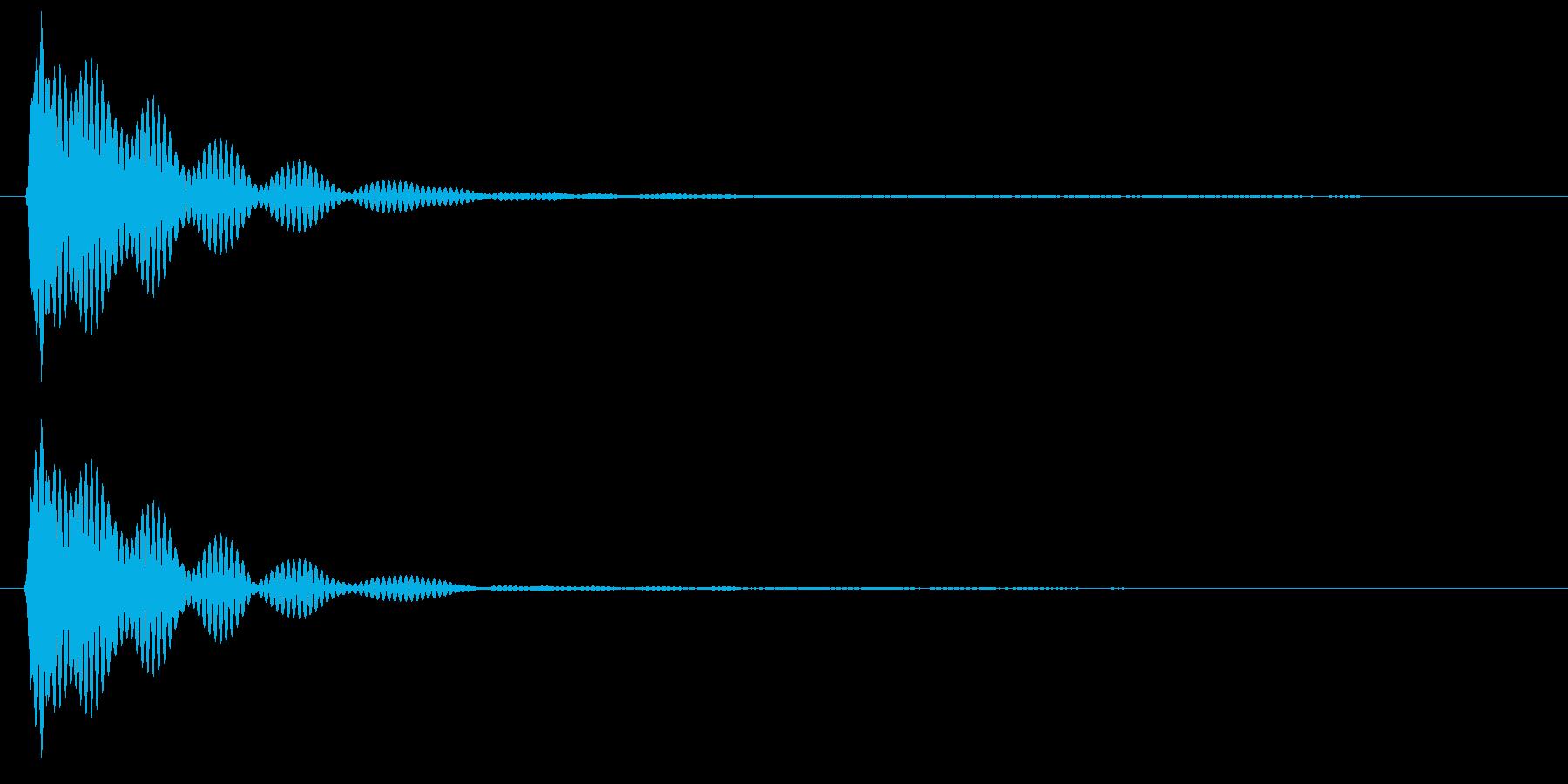 キイーン( 金属バット)の再生済みの波形