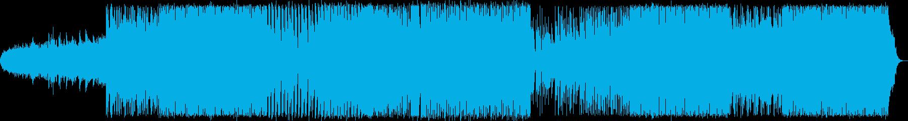 さわやかな80年代風エレクトロポップの再生済みの波形