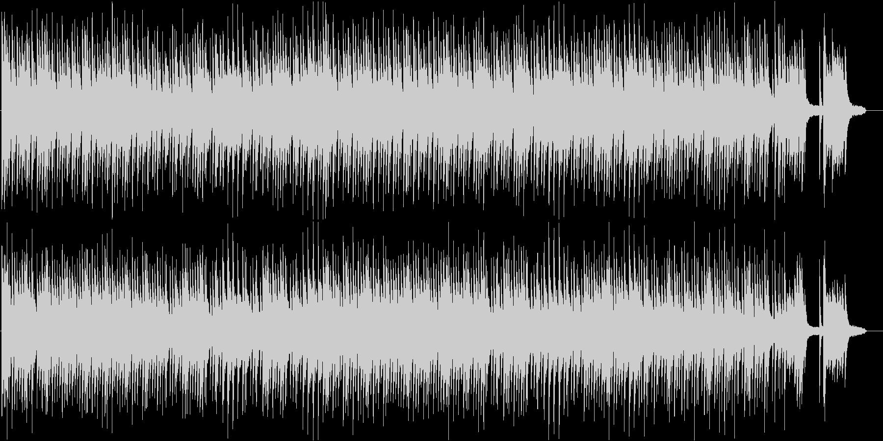 懐かしさと和を感じるピアノソロBGMの未再生の波形