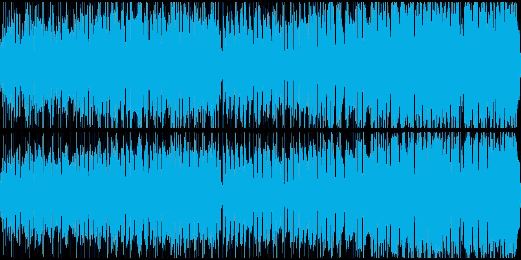 南国や夏にピッタリなBGMの再生済みの波形