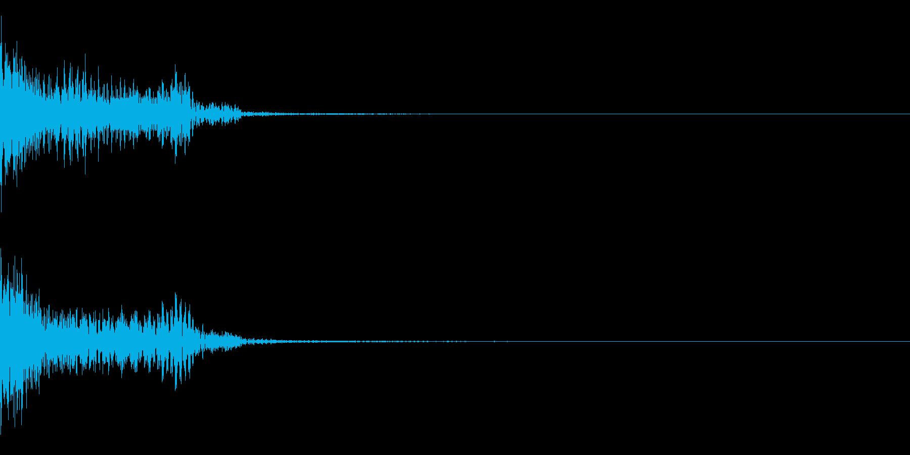 サイバー、ロゴ、アクセント、効果の再生済みの波形