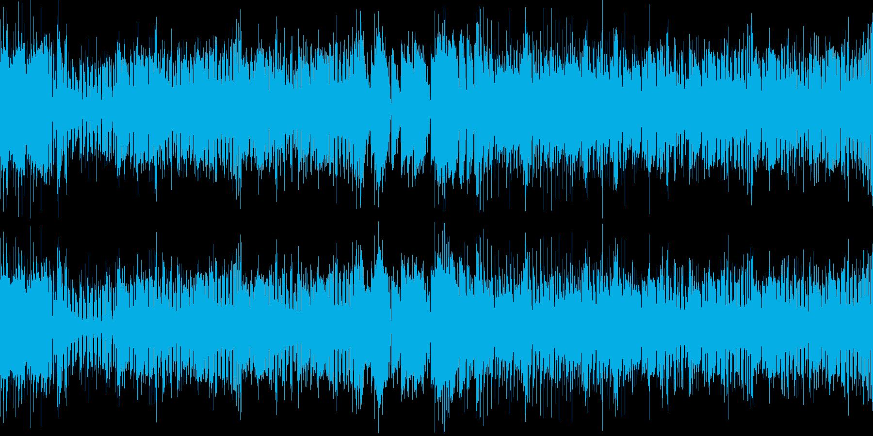 ギャグシーンに向けの曲です。の再生済みの波形