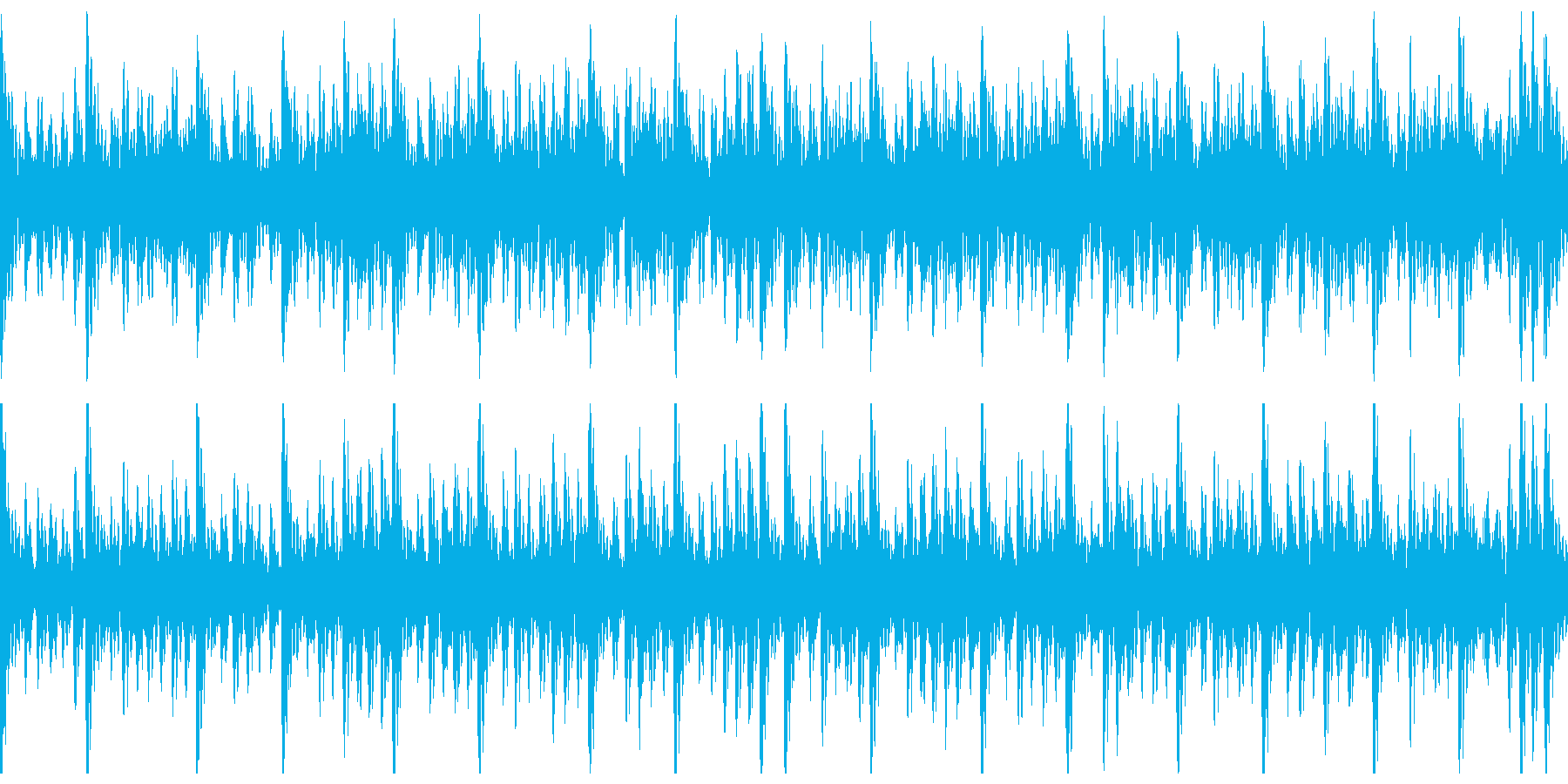 和太鼓(中太鼓)ソロの再生済みの波形