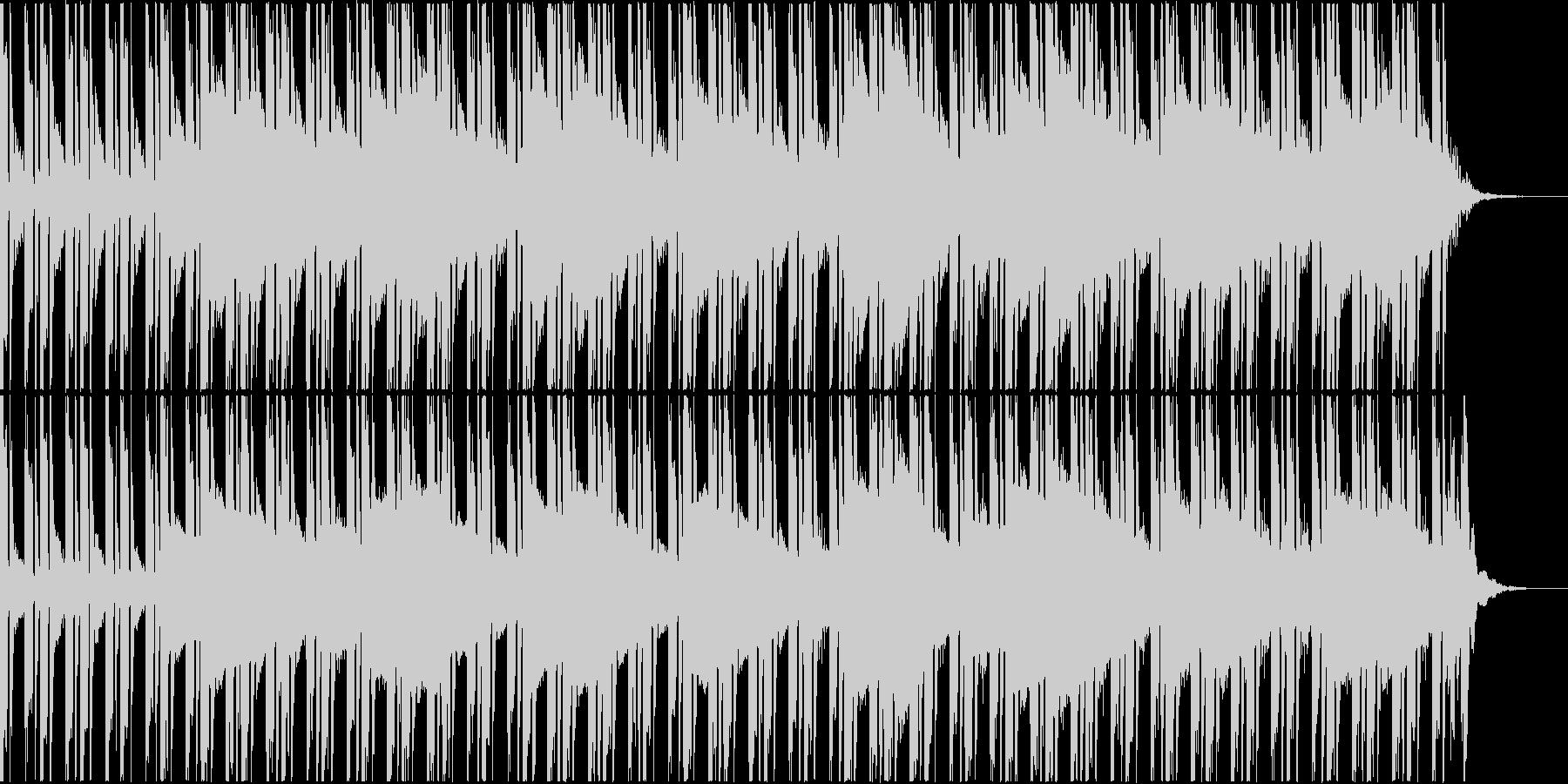 スタイルラップのトラックの未再生の波形