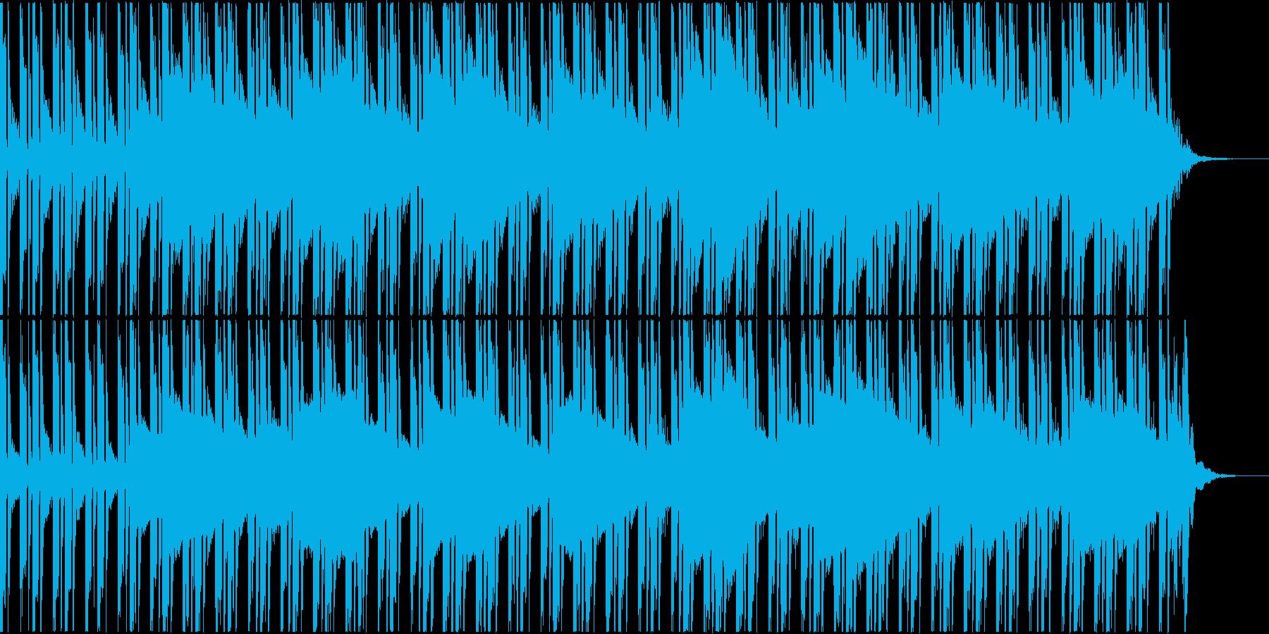 スタイルラップのトラックの再生済みの波形
