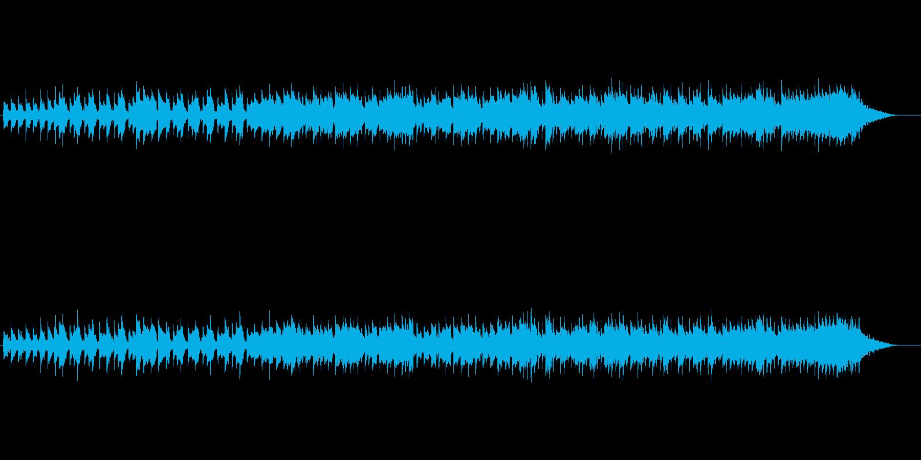 ほのぼの楽しいクリスマス~シンプルBGMの再生済みの波形