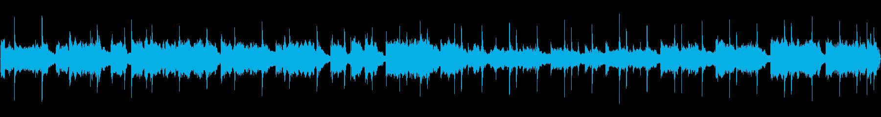 【30秒サビループ】ケルト風ウクレレ曲の再生済みの波形