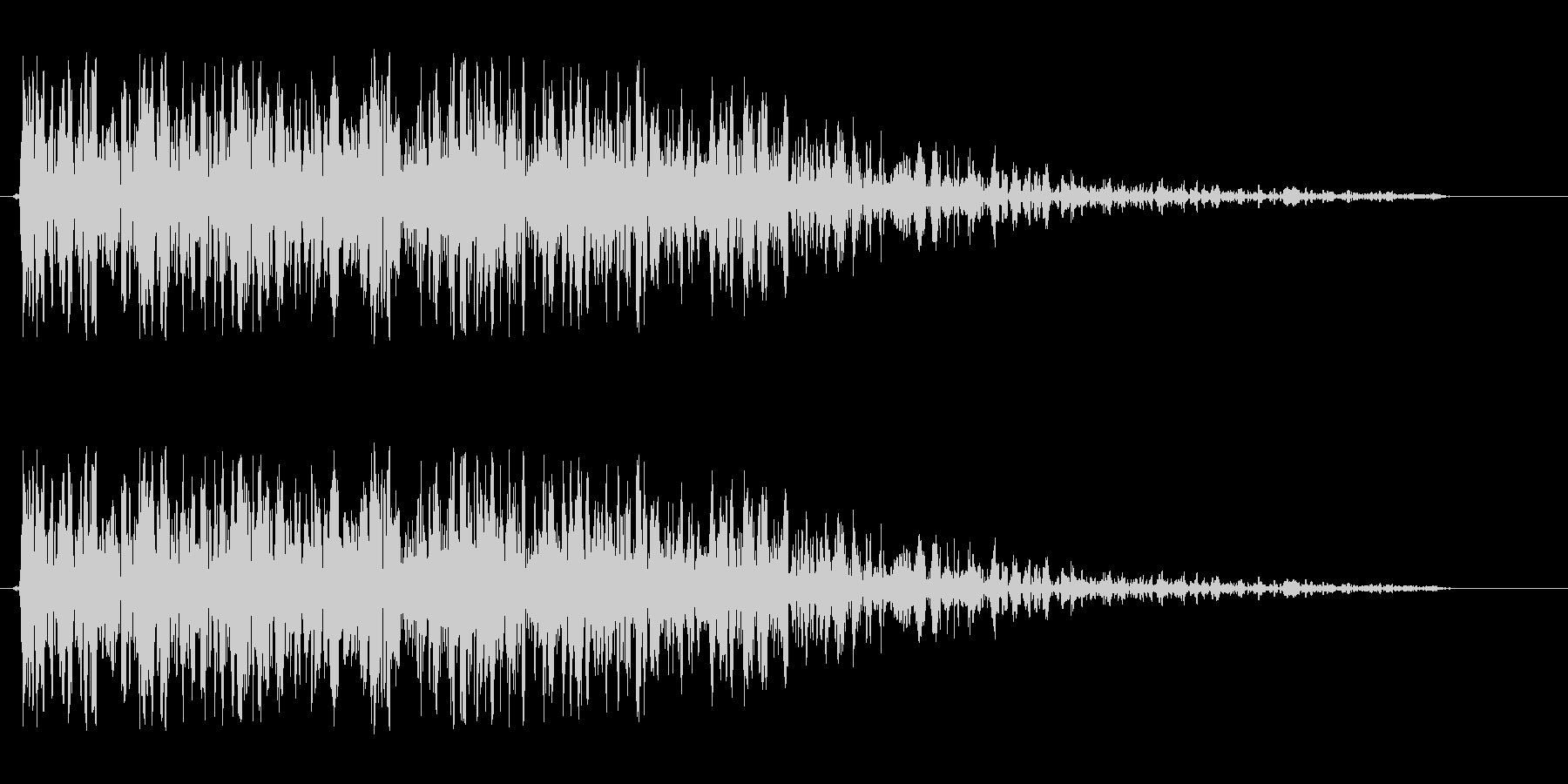 ドンジャン(クイズの出題)の未再生の波形